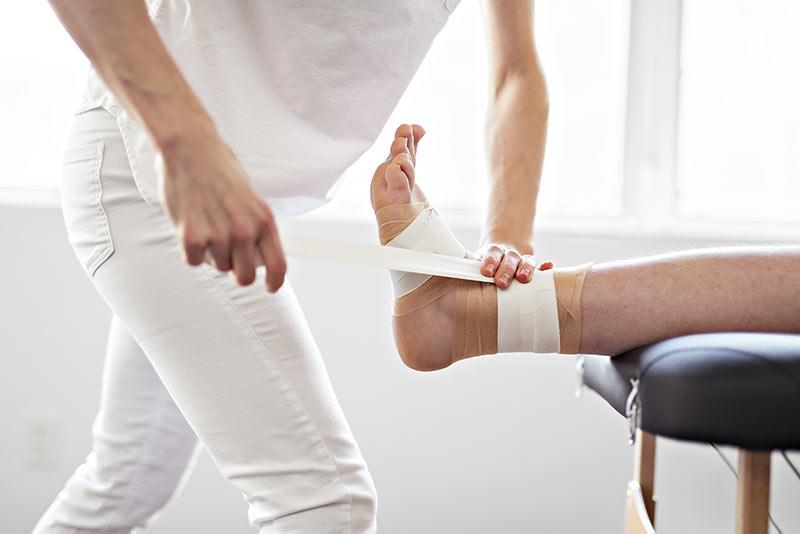 PoliambulatoriArcade_Fisioterapia_Bendaggio_Taping_Funzionale